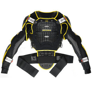 SPIDI WARRIOR JACKET - BLACK YELLOW