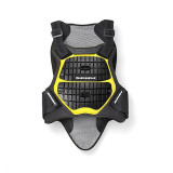 SPIDI DEFENDER BACK&CHEST BLACK YELLOW - FRONT