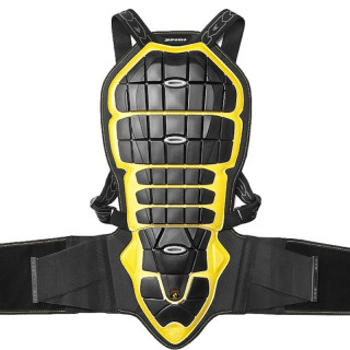 PARASCHIENA SPIDI BACK WARRIOR 180-195cm - NERO GIALLO