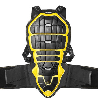 PARASCHIENA SPIDI BACK WARRIOR 170-180cm - NERO GIALLO