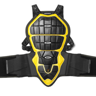PARASCHIENA SPIDI BACK WARRIOR 145-160cm - NERO GIALLO