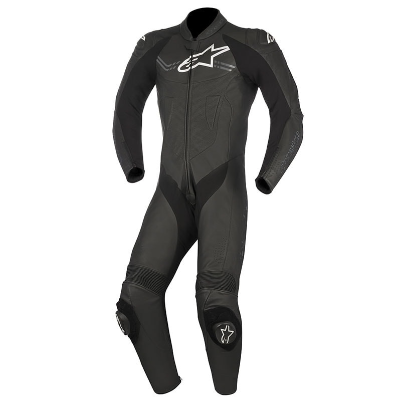 ALPINESTARS CHALLENGER V2 LEATHER SUIT - BLACK