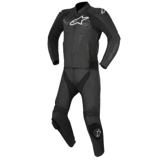 ALPINESTARS CHALLENGER V2 2PC LEATHER SUIT - BLACK