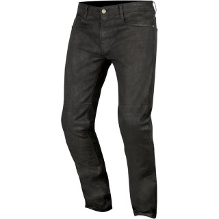 ALPINESTARS DOUBLE BASS DENIM PANTS - BLACK