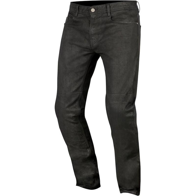ALPINESTARS DOUBLE BASS DENIM PANTS - BLACK