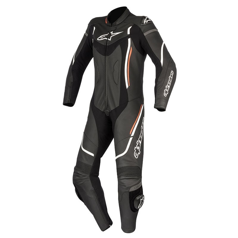 ALPINESTARS STELLA MOTEGI V2 LEATHER SUIT - BLACK RED