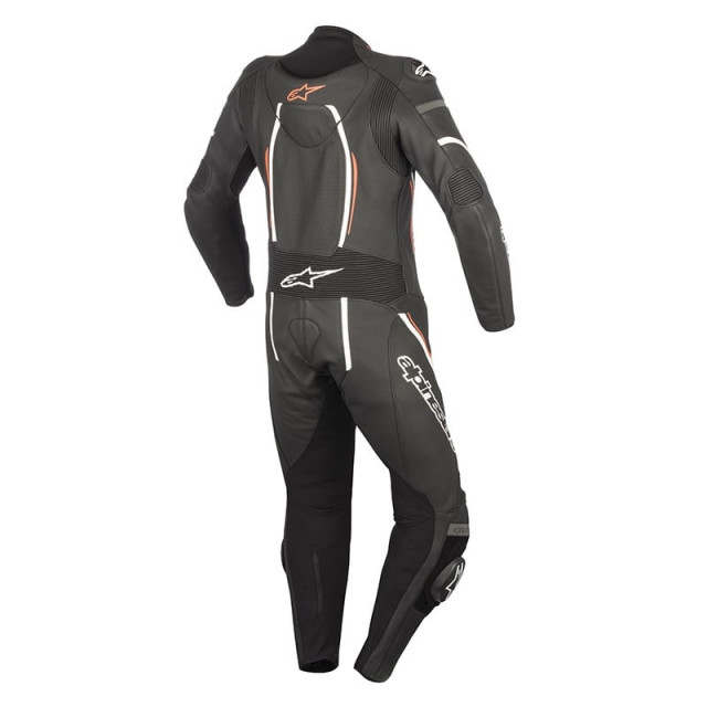 ALPINESTARS STELLA MOTEGI V2 LEATHER SUIT BLACK RED - BACK