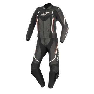 ALPINESTARS STELLA MOTEGI V2 2PC LEATHER SUIT - BLACK RED