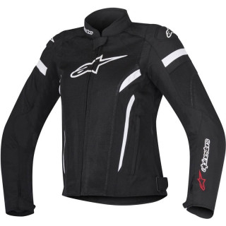 ALPINESTARS STELLA T-GP PLUS R V2 - BLACK WHITE