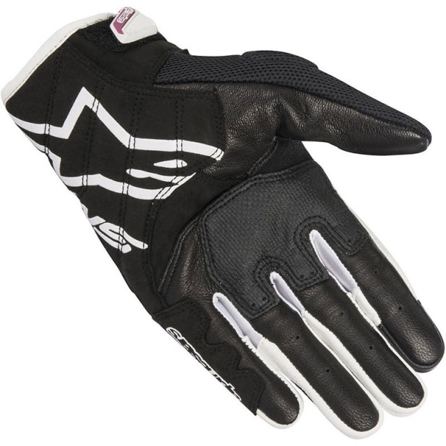 ALPINESTARS STELLA SMX-2 AIR CARBON V2 BLACK WHITE FUCHSIA - PALM