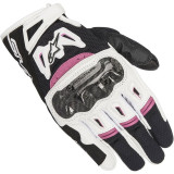 ALPINESTARS STELLA SMX-2 AIR CARBON V2 - BLACK WHITE FUCHSIA