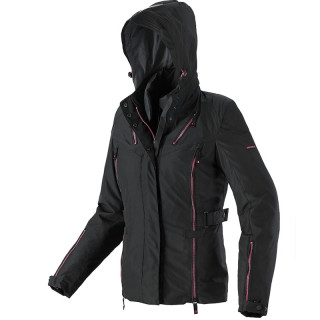SPIDI STORMY H2OUT JACKET - BLACK FUCHSIA