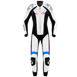 SPIDI WIND PRO LADY LEATHER SUIT - WHITE