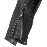 SPIDI ACE LEATHER LADY JACKET BLACK ICE - WRIST