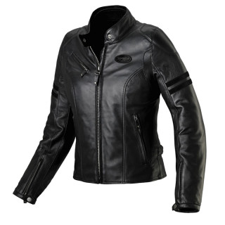 SPIDI ACE LEATHER LADY JACKET - BLACK