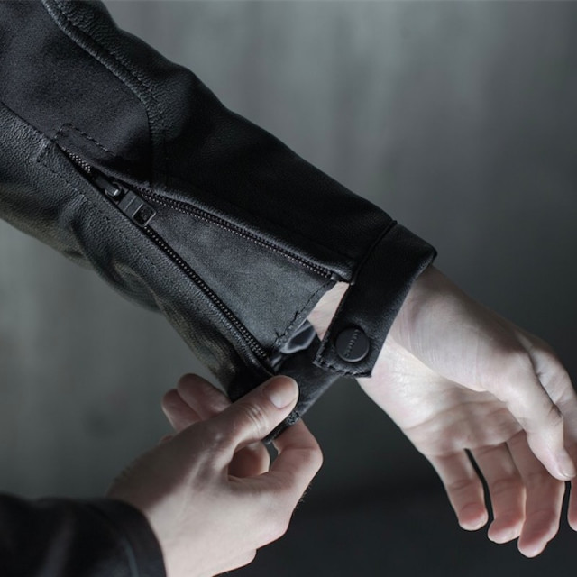 SPIDI MYSTIC JACKET BLACK - WRIST