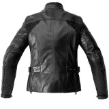 SPIDI MYSTIC JACKET BLACK - BACK