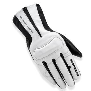 SPIDI CHARM LADY GLOVES - BLACK WHITE