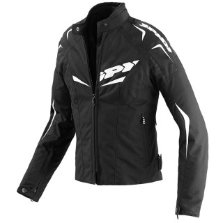 SPIDI NW 200 TEX LADY JACKET - BLACK WHITE