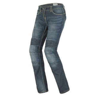 SPIDI J&RACING LADY JEANS - BLUE DARK USED