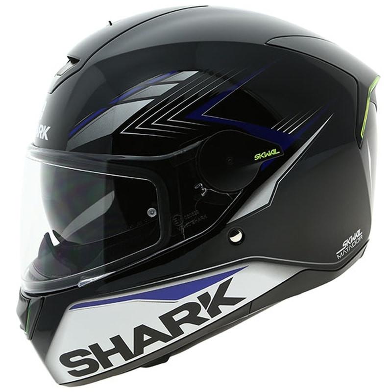 shark skwal matador helmet burnoutmotor. Black Bedroom Furniture Sets. Home Design Ideas
