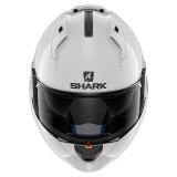 SHARK EVO-ONE BLANK WHITE AZUR - FRONTE