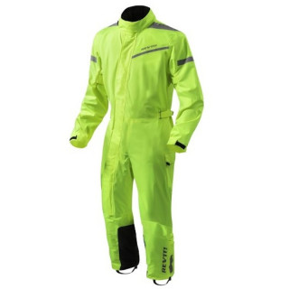 REV'IT PACIFIC 2 H2O RAIN SUIT - NEON YELLOW BLACK