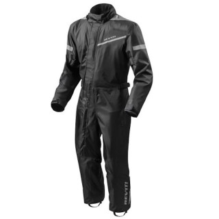 REV'IT PACIFIC 2 H2O RAIN SUIT - BLACK