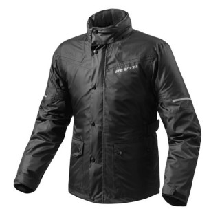 GIACCA ANTIPIOGGIA REV'IT NITRIC 2 H2O RAIN JACKET - NERO