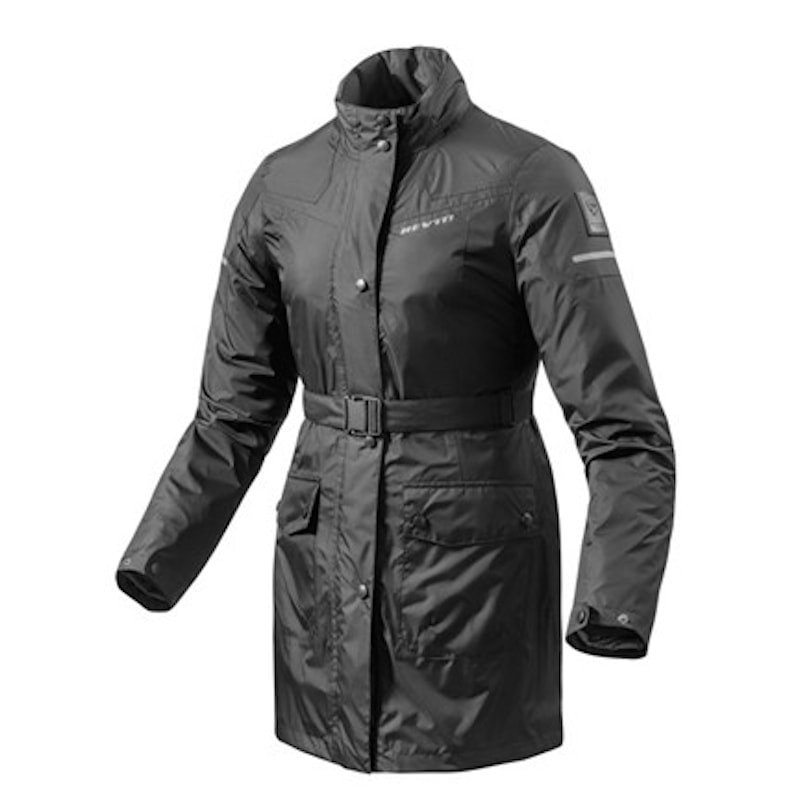 REV'IT TOPAZ H2O LADIES RAIN JACKET - BLACK