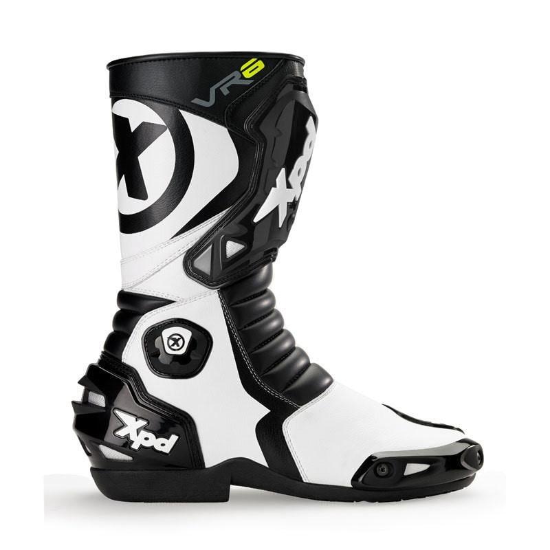 XPD VR6.2 Boots - Black White