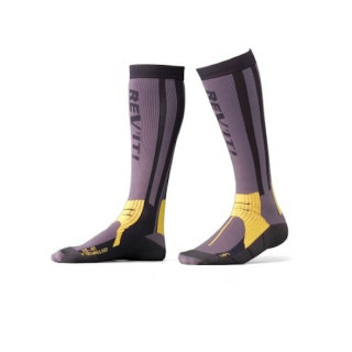 REV'IT TOUR SUMMER SOCKS - GREY YELLOW