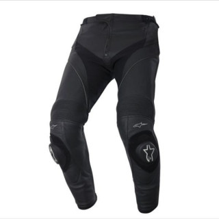 PANTALONI ALPINESTARS MISSILE LEATHER PANTS - NERO