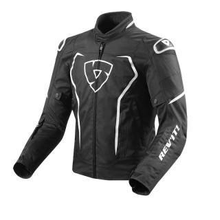 REV'IT VERTEX JACKET - BLACK WHITE