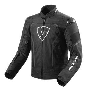 REV'IT VERTEX H2O JACKET - BLACK