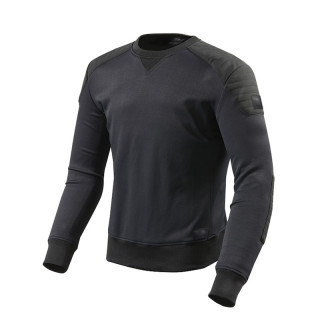 REV'IT YATES ARMOR SWEATSHIRT - BLACK