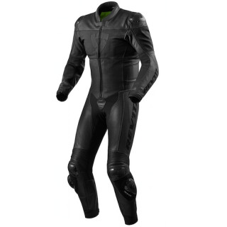 REV'IT NOVA ONE PIECE LEATHER SUIT  - BLACK