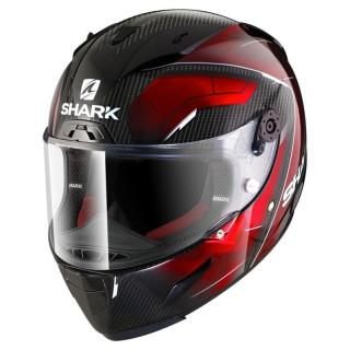 SHARK RACE-R PRO CARBON DEAGER - RED