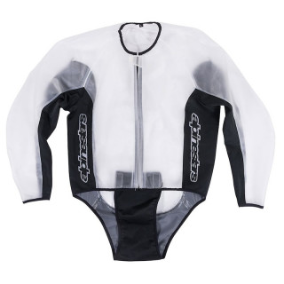 ALPINESTARS RACING RAIN JACKET - CLEAR BLACK
