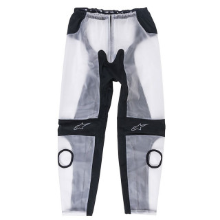 COPRITUTA ANTIPIOGGIA ALPINESTARS RACING RAIN PANTS - CLEAR BLACK