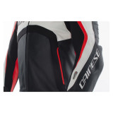 Dainese Misano D-Air Jacket Black-White-Red - Torax Detail