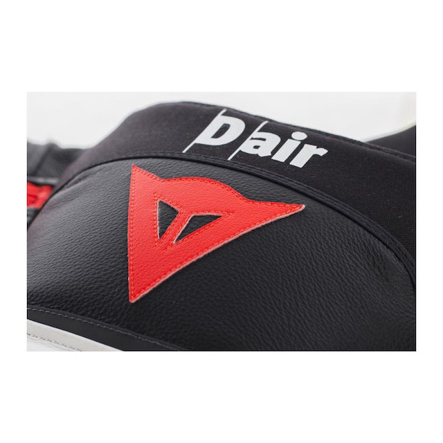 Dainese Misano D-Air Jacket Black-White-Red - Hump Detail