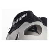 Dainese Misano D-Air Jacket Black-White-Red - Shoulder Detail