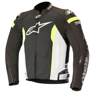 GIACCA ALPINESTARS T-MISSILE AIR TECH AIR JACKET - BLACK WHITE YELLOW FLUO