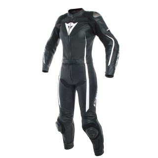 DAINESE ASSEN 2 PCS LADY SUIT - Black-White