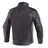 GIACCA DAINESE CORBIN D-DRY LEATHER JACKET BLACK - RETRO