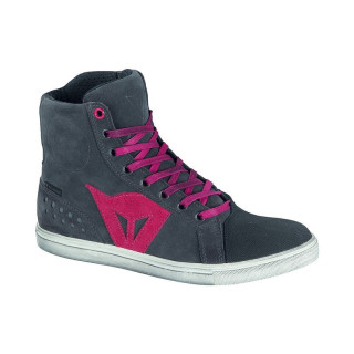 DAINESE STREET BIKER LADY D-WP SHOES - ANTHRACITE FUCHSIA