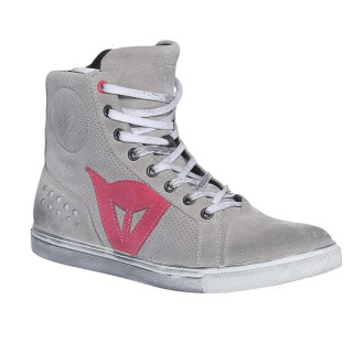 SCARPE DAINESE STREET BIKER LADY AIR - LIGHT GRAY CORAL