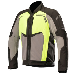 ALPINESTARS DURANGO AIR JACKET - BLACK DARK GRAY YELLOW FLUO