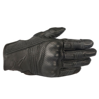 ALPINESTARS MUSTANG v2 LEATHER GLOVE - BLACK BLACK